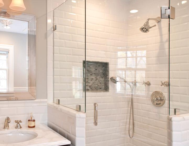 New Bathroom Decorating Trends : Bathroom tile design trends for interior