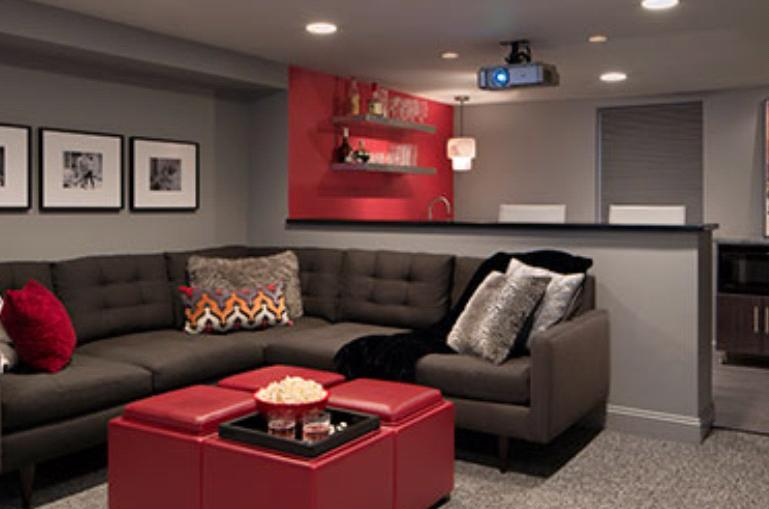 what is the best paint color for the media room? | interior design