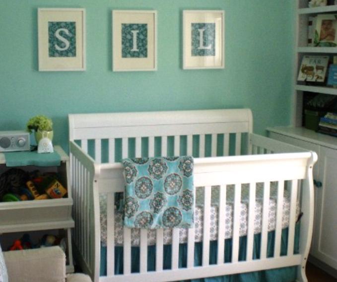 Paint Color For The Nursery Boys