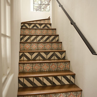Decorating Ideas for Stair Risers