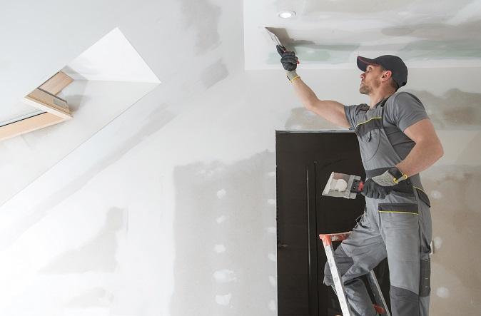 finishing drywall