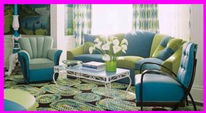 Retro Living Room Design