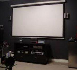 Media Room Projector