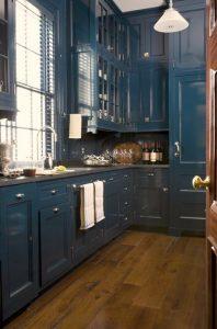 bold color kitchen