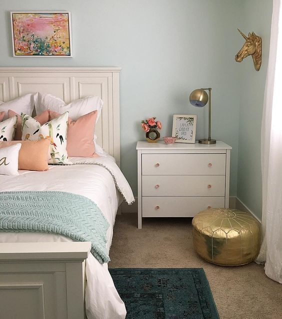 pastel wall paint color