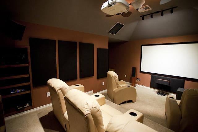 home video and audio setup